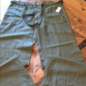 Green lite weight pants